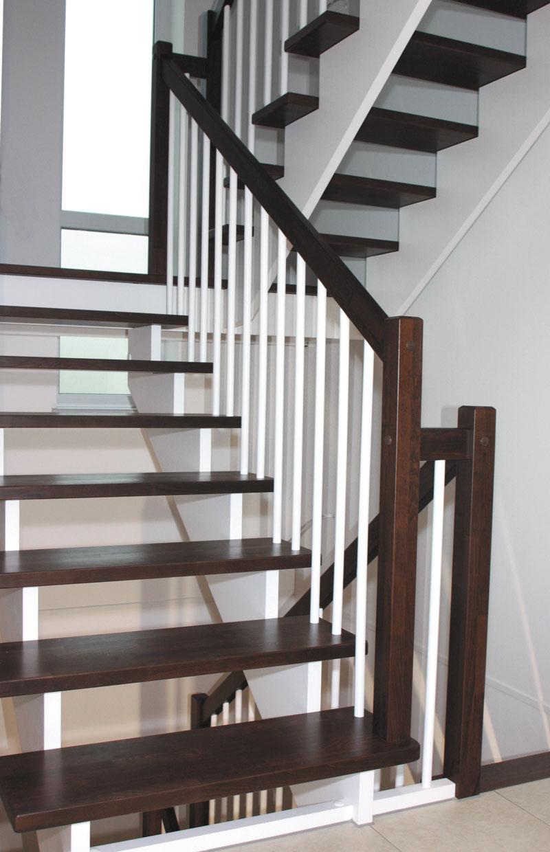 aufgesattelte treppe massivholztreppen von g ta g ta. Black Bedroom Furniture Sets. Home Design Ideas